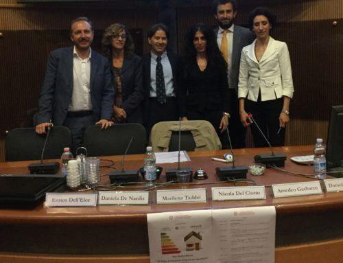 """L'Aquila 10 Maggio 2018 –  grande interesse e partecipazione per il seminario """"Strategie di intervento integrato per riqualificare l'esistente"""""""